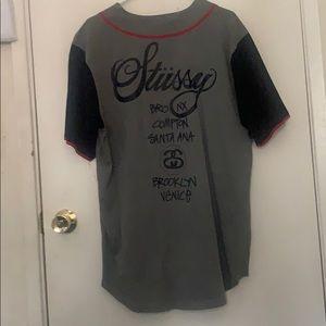 Stussy Baseball style jersey
